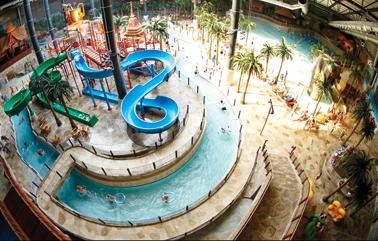 Vakantie met subtropisch zwembad